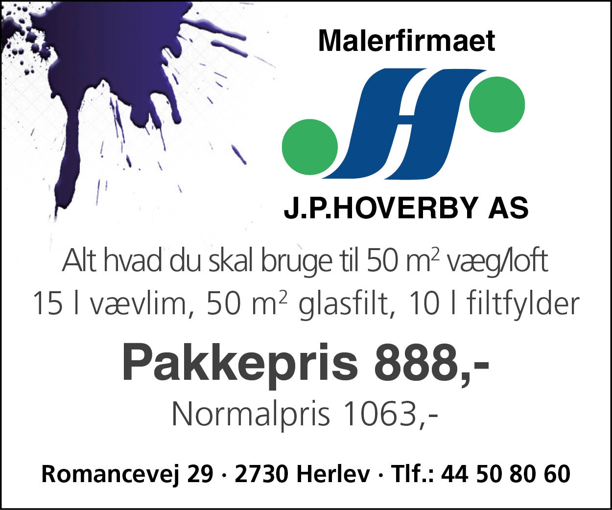 300 x 250 Hoverby mobilbanner